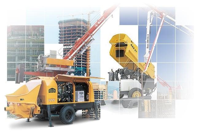 Строительная техника - поставка и ремонт
